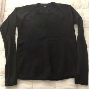 Lululemon black sweater, size 4, good condition